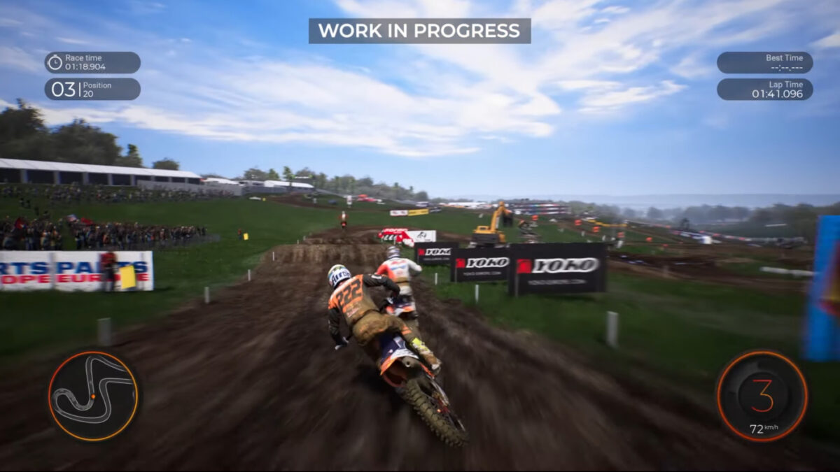 Check out the first MXGP 2020 gameplaye video released by Milestone