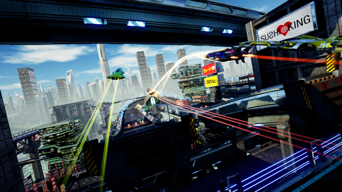 Futuristic anti-gravity racing game Pacer launches