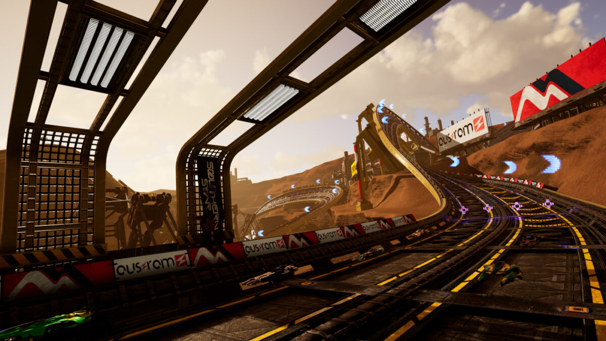 The tracks in Pacer look really fun and challenging