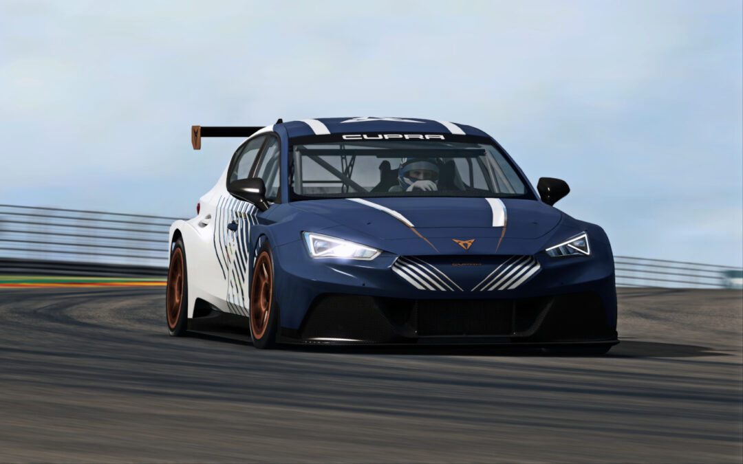 RaceRoom adds the Cupra Leon E-Racer as a new paid DLC car