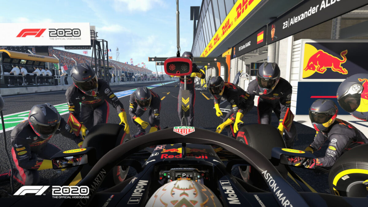 The new F1 2020 Performance Update arrives next week...