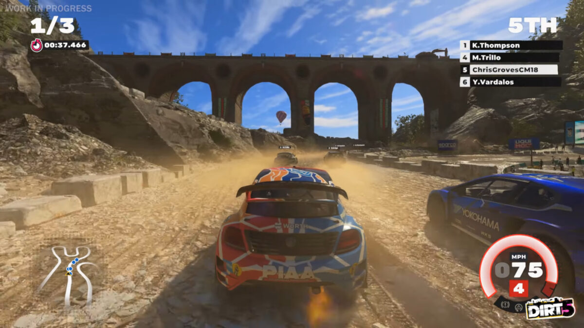 The latest DIRT 5 Video Shows Ultra Cross World RX in Italy