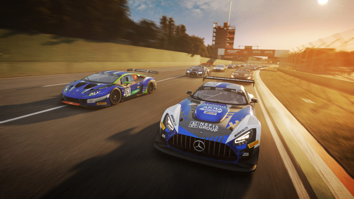 The Assetto Corsa Competizione Update v1.6.0 and 2020 GTWC Pack are both available now