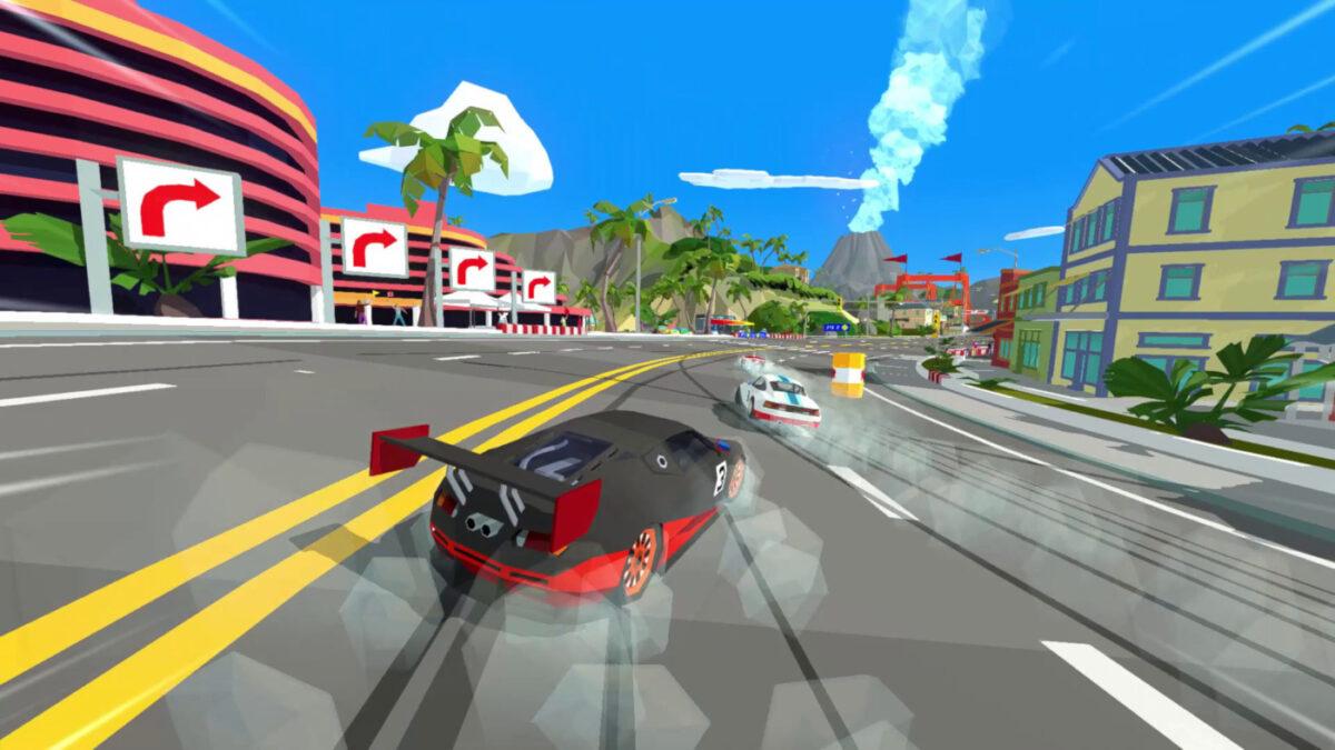 The Free Hotshot Racing Big Boss Bundle DLC includes Barrel Barrage, 4 new locations and a new GP championship