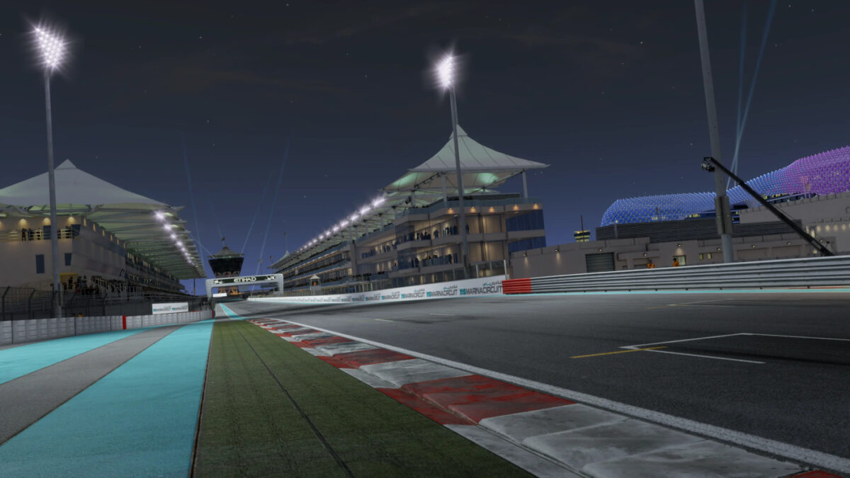The Project CARS 3 update V1.07 adds the Yas Marina circuit