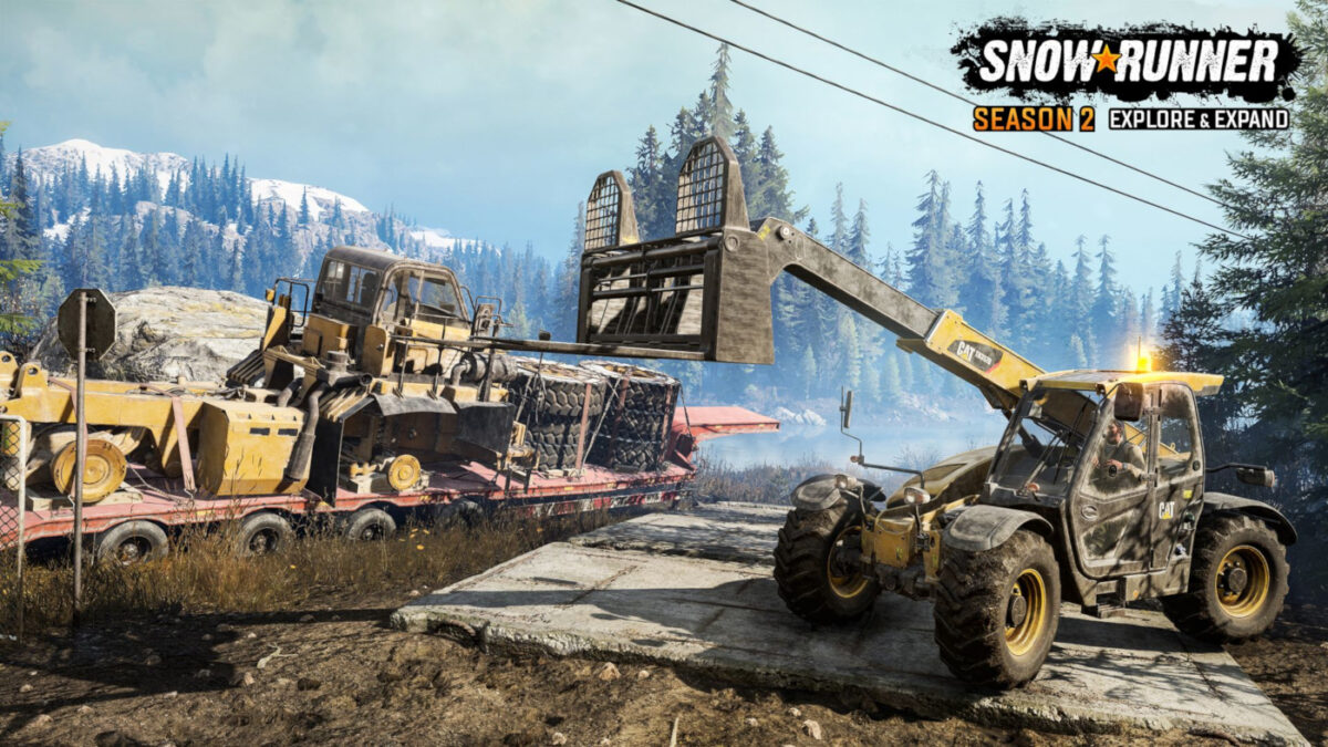 Three new vehicles in SnowRunner Season 2 Explore and Expand include a forklift and the largest truck yet