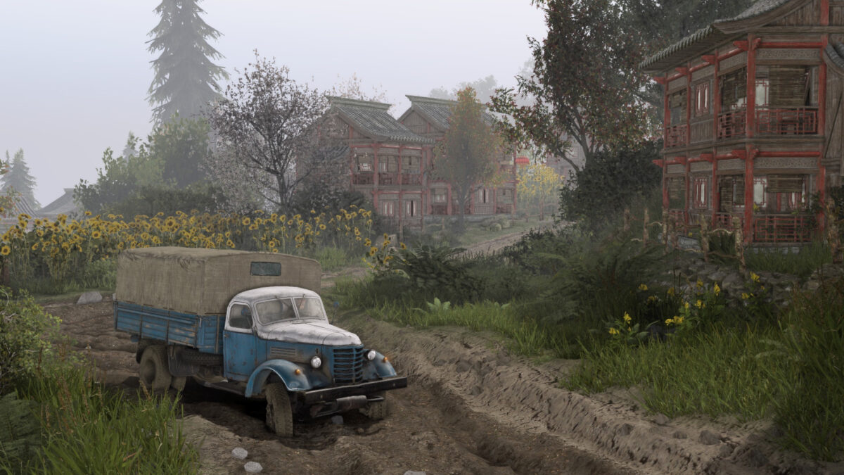 New trucks, new maps and more in the Spintires China Adventure DLC
