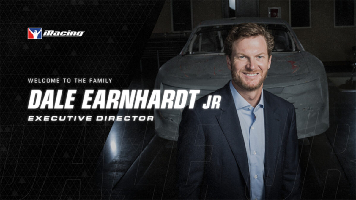 Dale Earnhardt Jr Joins iRacing as Executive Director