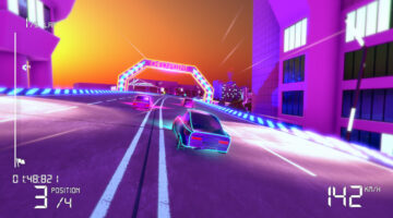 Electro Ride: The Neon Racing Set For Switch Release