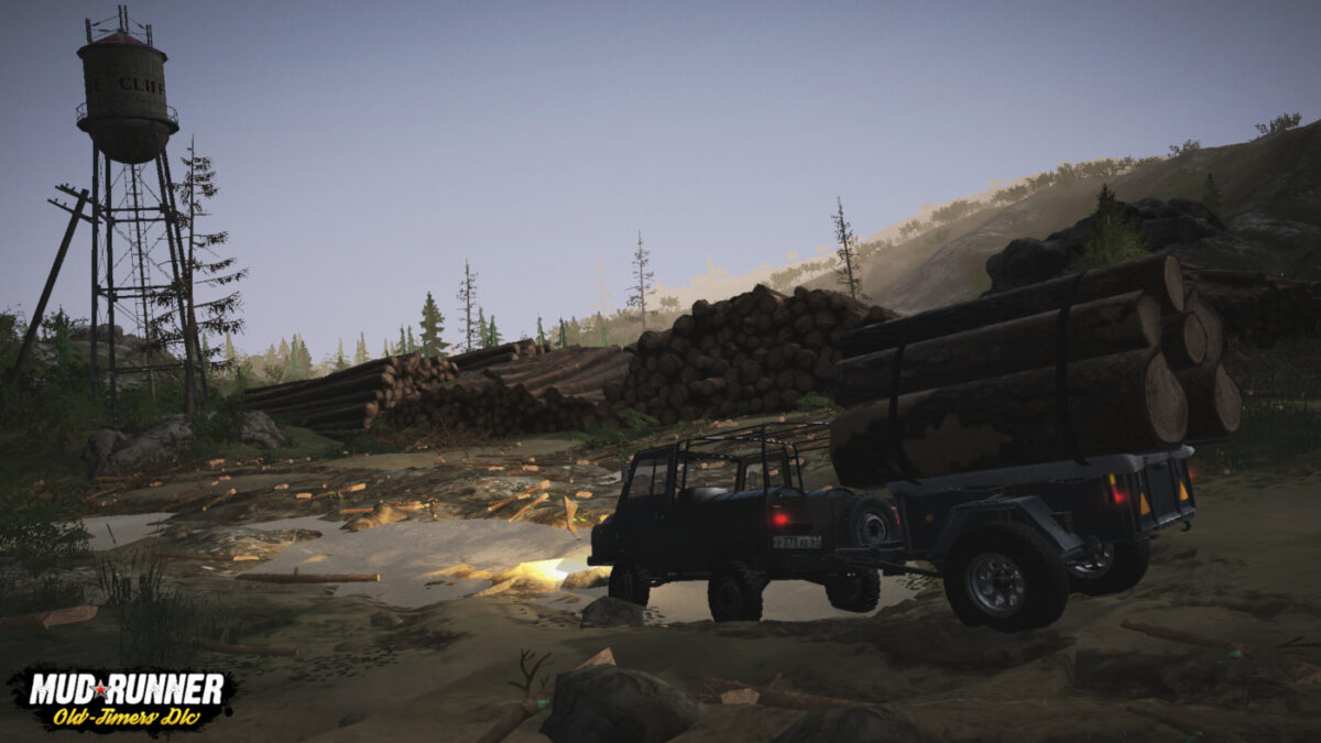 Mudrunner Mobile: Old-Timers and 4-DLC Pack Released