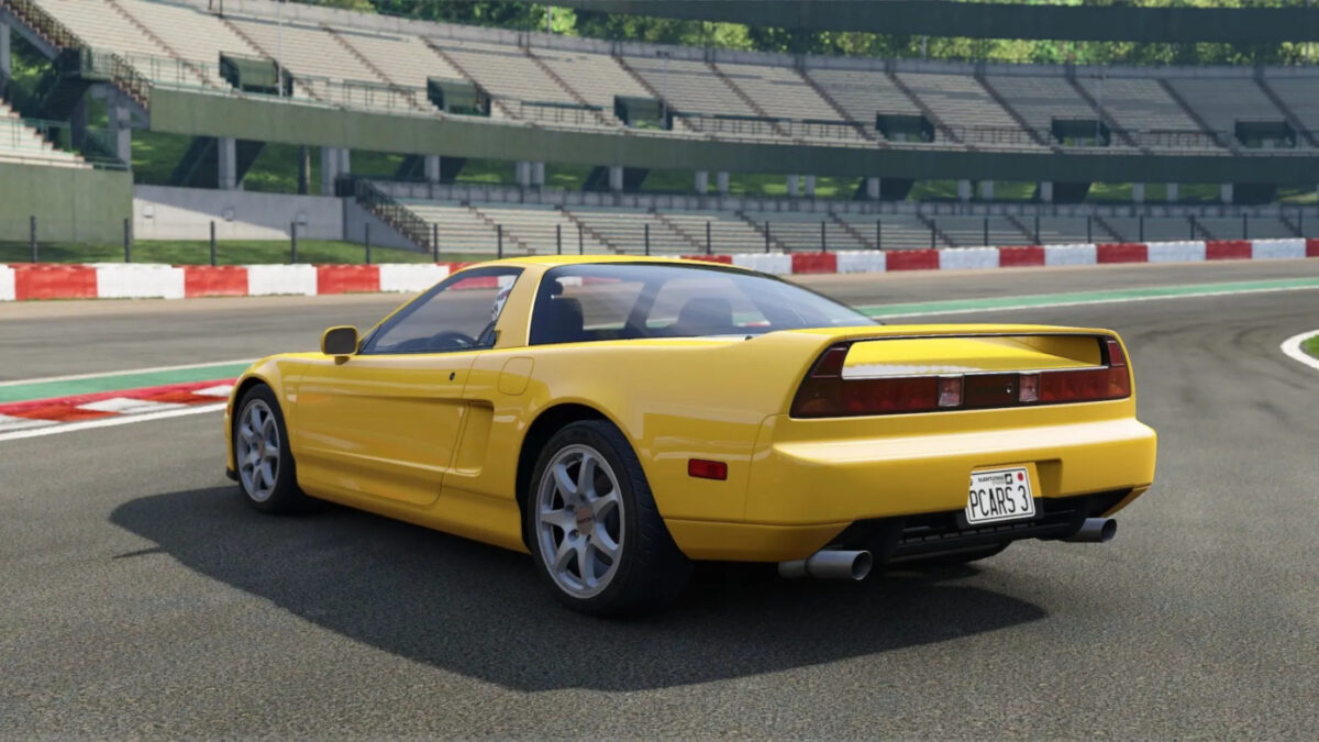 The Project Cars 3 Legends Pack DLC includes the 1997 Acura NSX