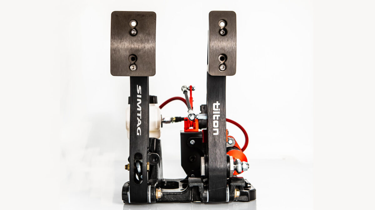 The Simtag Hydraulic 2 Pedal Racer Edition has launched for pre-orders