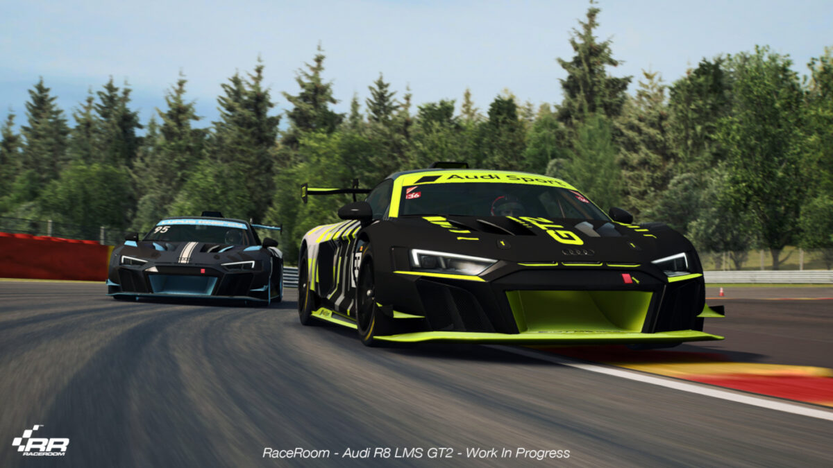 Almost as quick as a GT3, but easier to drive - the Audi R8 LMS GT2