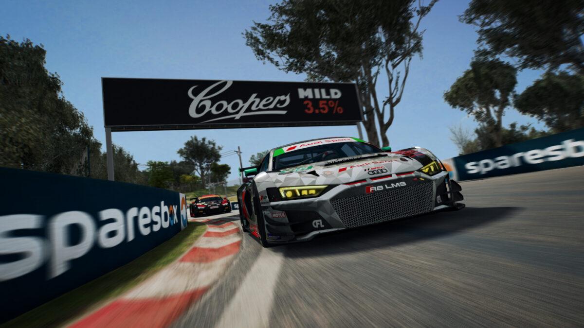 The Audi R8 LMS GT3 Evo will arrive in RaceRoom in December 2020