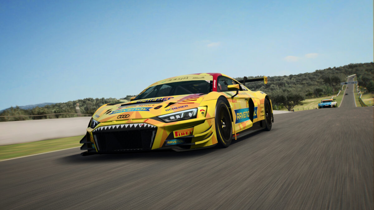The Audi R8 LMS GT3 Evo joins RaceRoom as part of a GT2, GT3 and GT4 trio