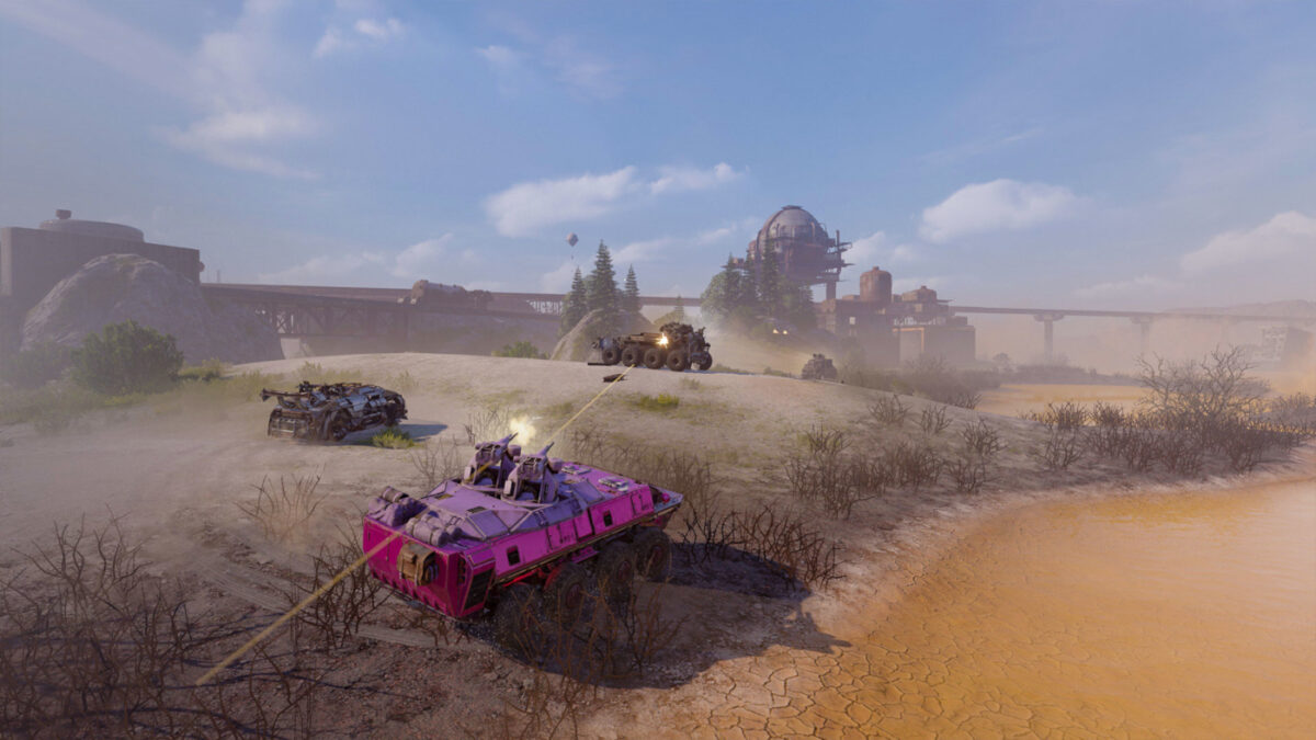 Battle for success with the new Crossout Clean Island event and map