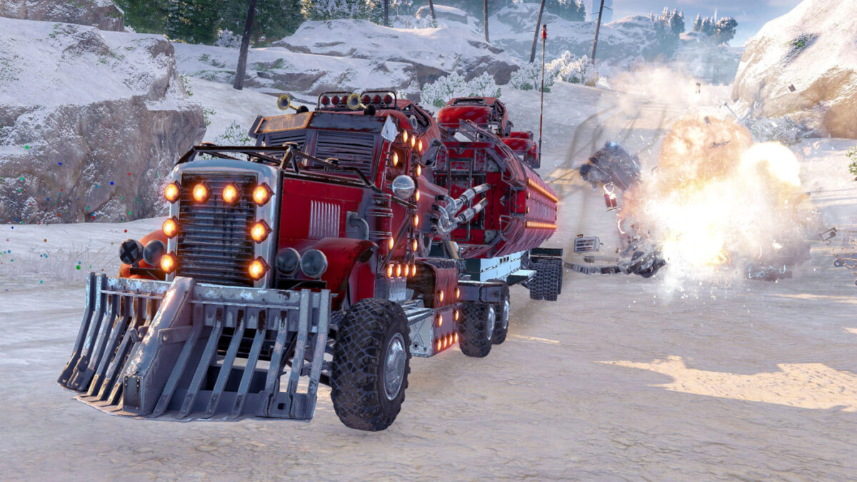 Celebrate the holidays by destroying cars in a post-apocalyptic wasteland...