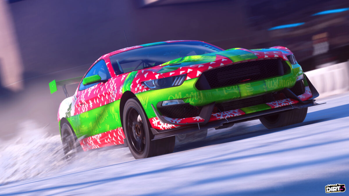 Get the new DIRT 5 Update v2.0 and a Snow Limits Content Pack, at the same time