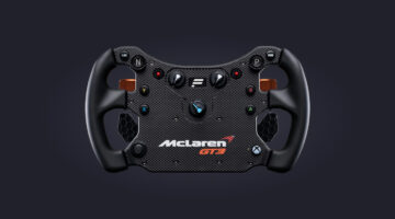 New Fanatec CSL Elite Steering Wheel McLaren GT3 V2 Launched