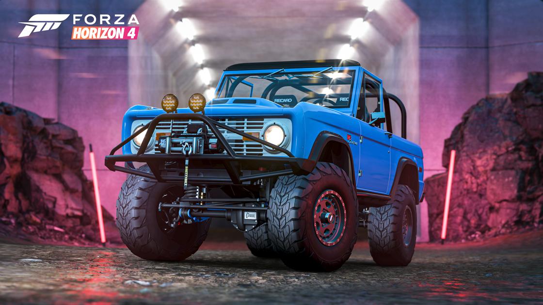 The Forza Horizon 4 Series 30 Hoonigan Bronco