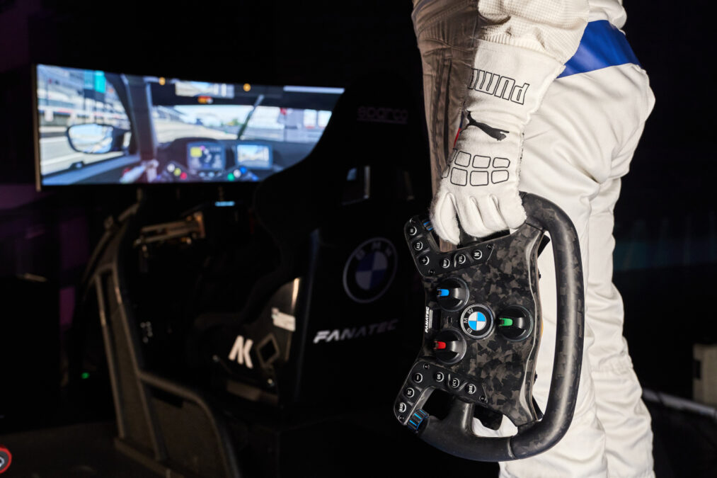 Professional racing drivers and sim racers will only need one wheel now...