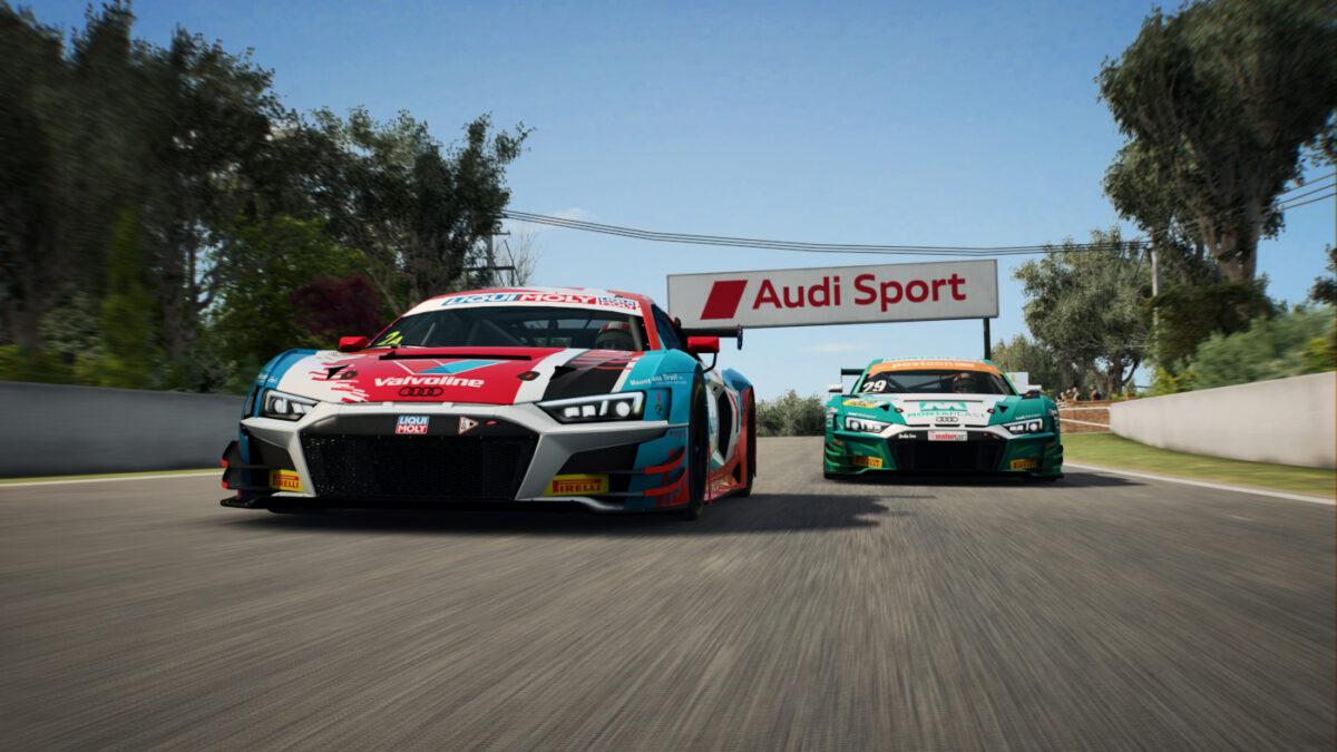 Now the Audi R8 LMS GT3 Evo Joins RaceRoom