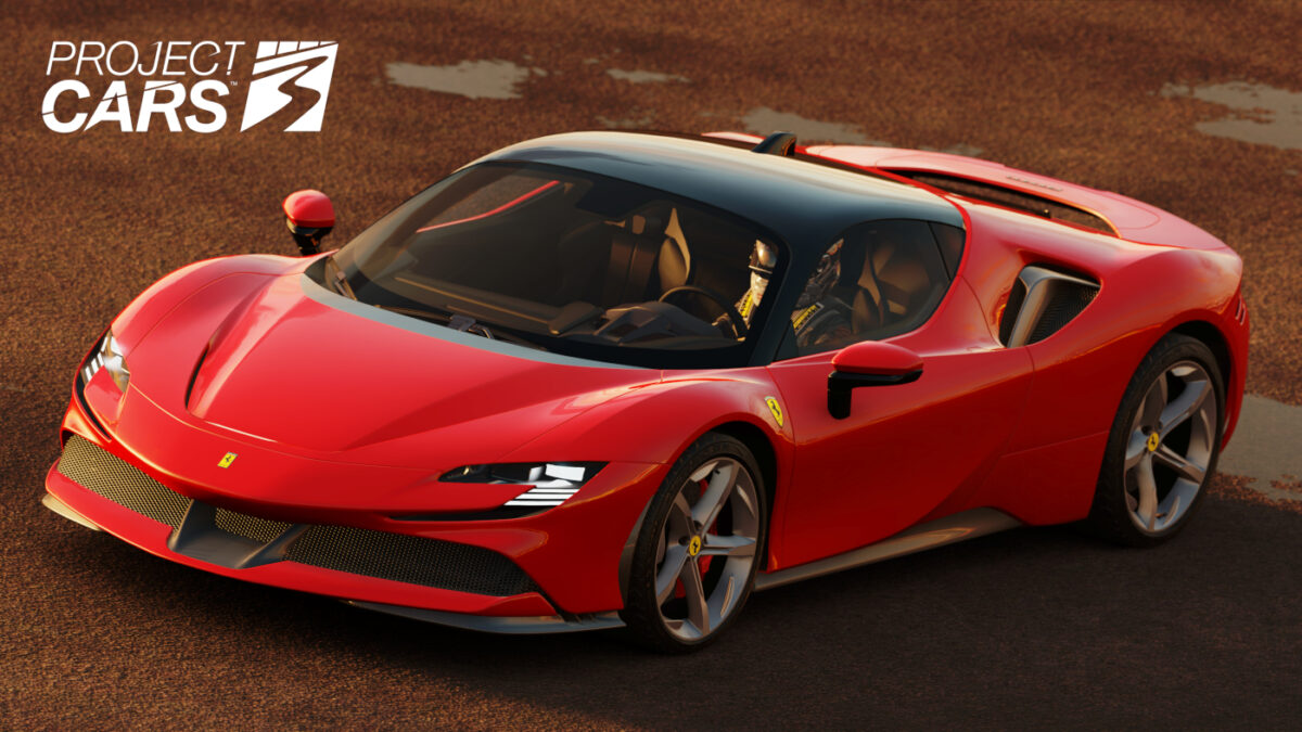 The Project CARS 3 Style Pack DLC announced for December 15th includes the Ferrari SF90 Stradale, the Lamborghini Sian FKP 37, and the Hennessey Venom F5