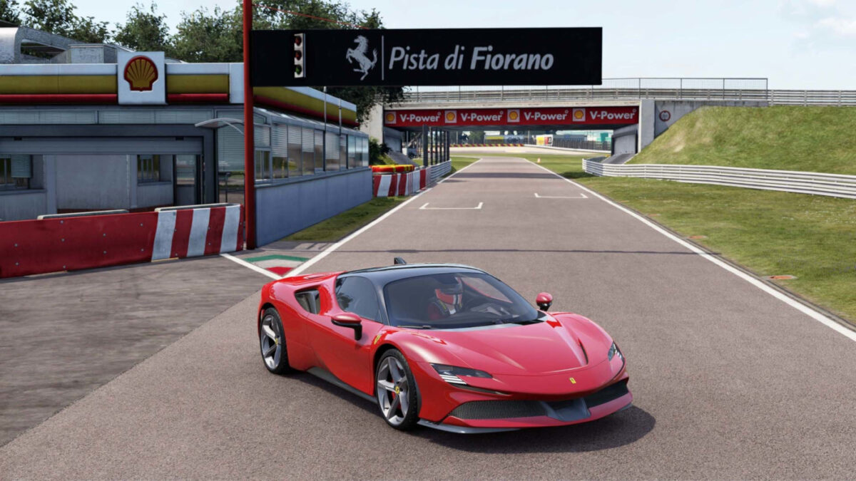 The Ferrari SF90 Stradale from the Project CARS 3 Style Pack DLC