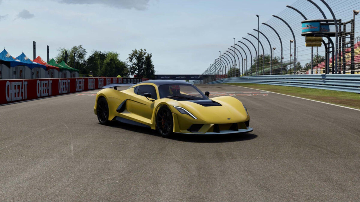 The Project CARS 3 Style Pack DLC includes the 1817hp Hennessey Venom F5