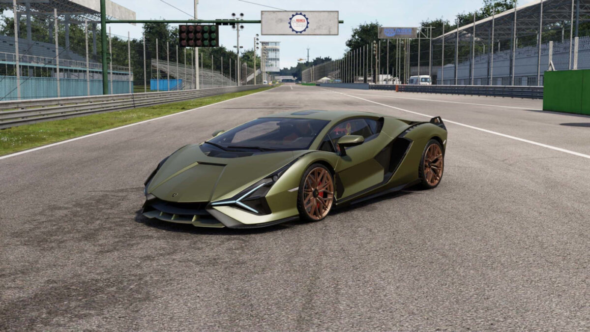The Lamborghini Sian FKP 37 is the third car in the new DLC Pack