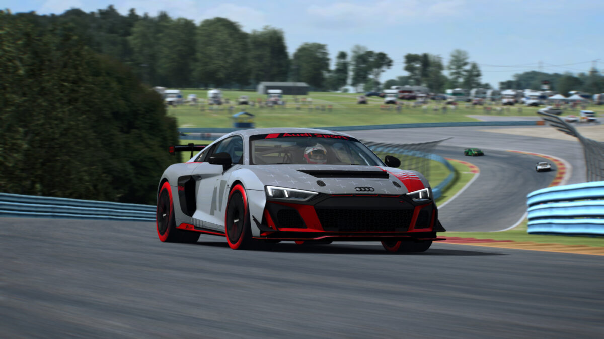 Will you be trying the new Audi R8 LMS GT4 in RaceRoom?