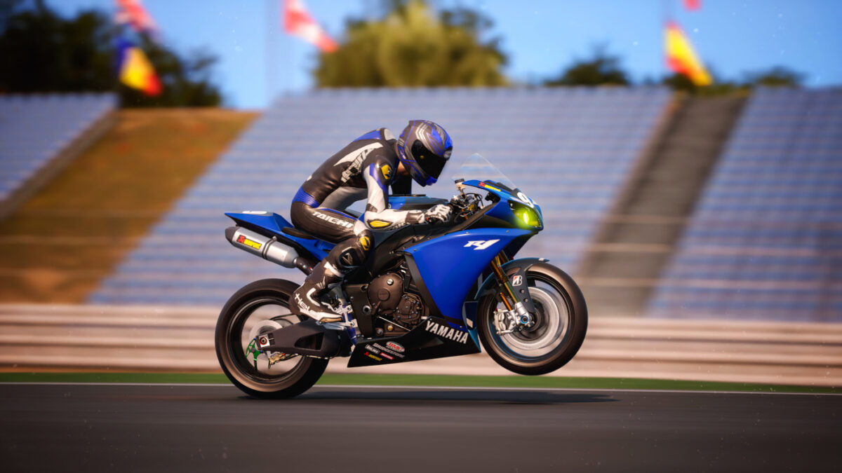 The 2014 Yamaha R1 Endurance Modified can now be added to RIDE 4 for free
