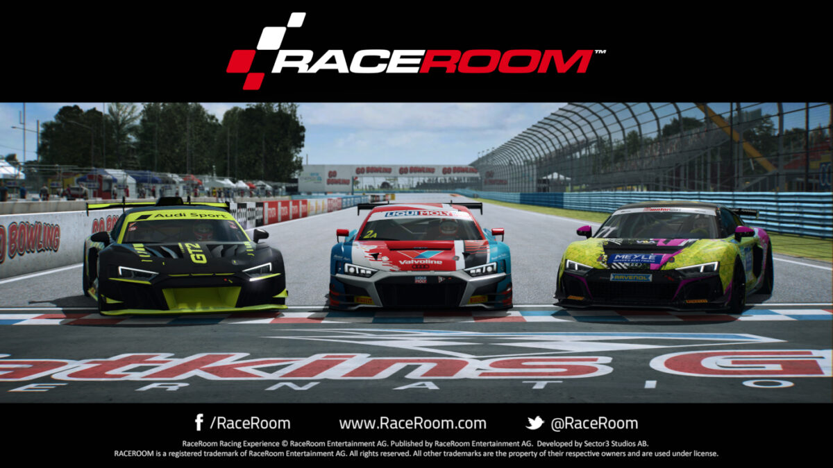The big December 2020 RaceRoom Update arrives with 3 Audis, 2 VWs, Watkins Glen and more...