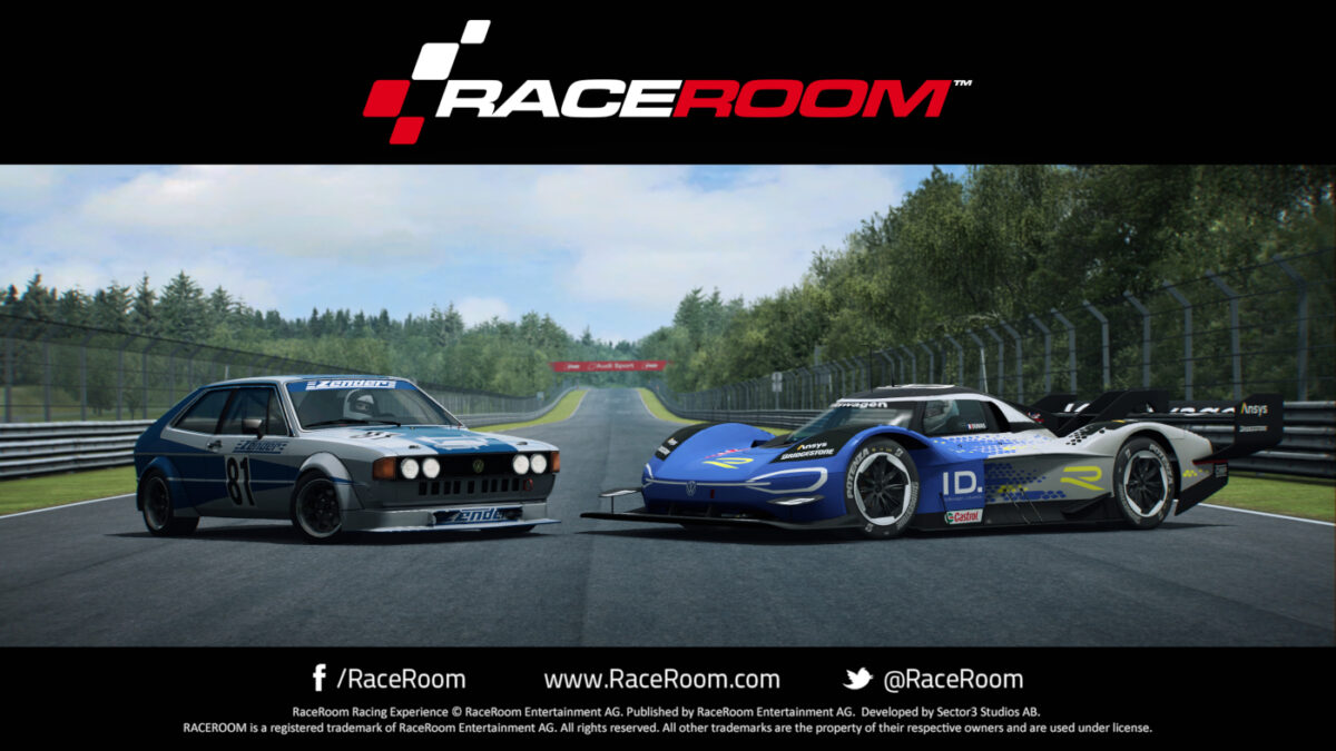 Two VWs arrive with the December 2020 RaceRoom update. One classic, and one very modern