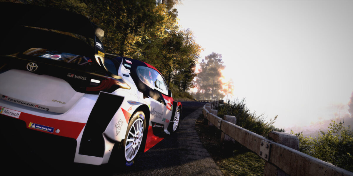 WRC 9 will let you race the Toyota Gazoo Racing Yaris before it competes in the World Rally Championship