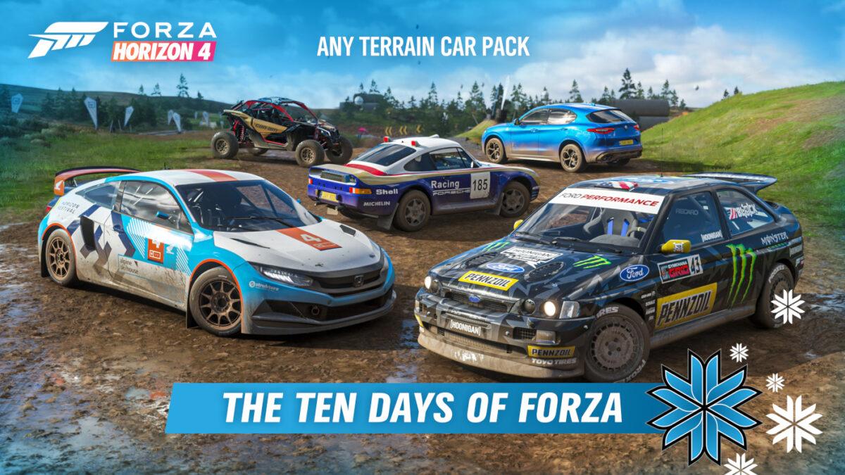 Win Forza Horizon 4 Prizes With The Ten Days of Forza