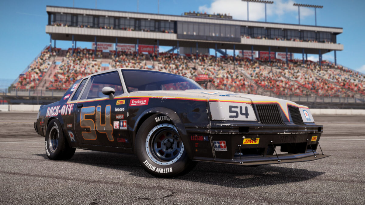The Raven is part of the Wreckfest Racing Heroes DLC Pack