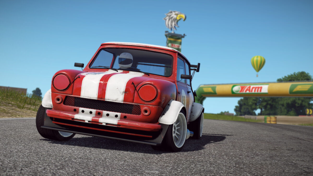 The Speedie, from the Wreckfest Racing Heroes DLC Pack