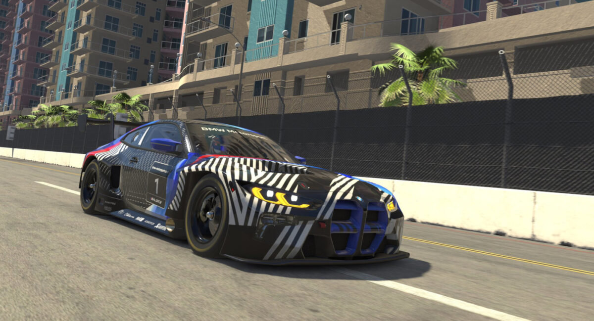 iRacing offers an Early Release for the BMW M4 GT3