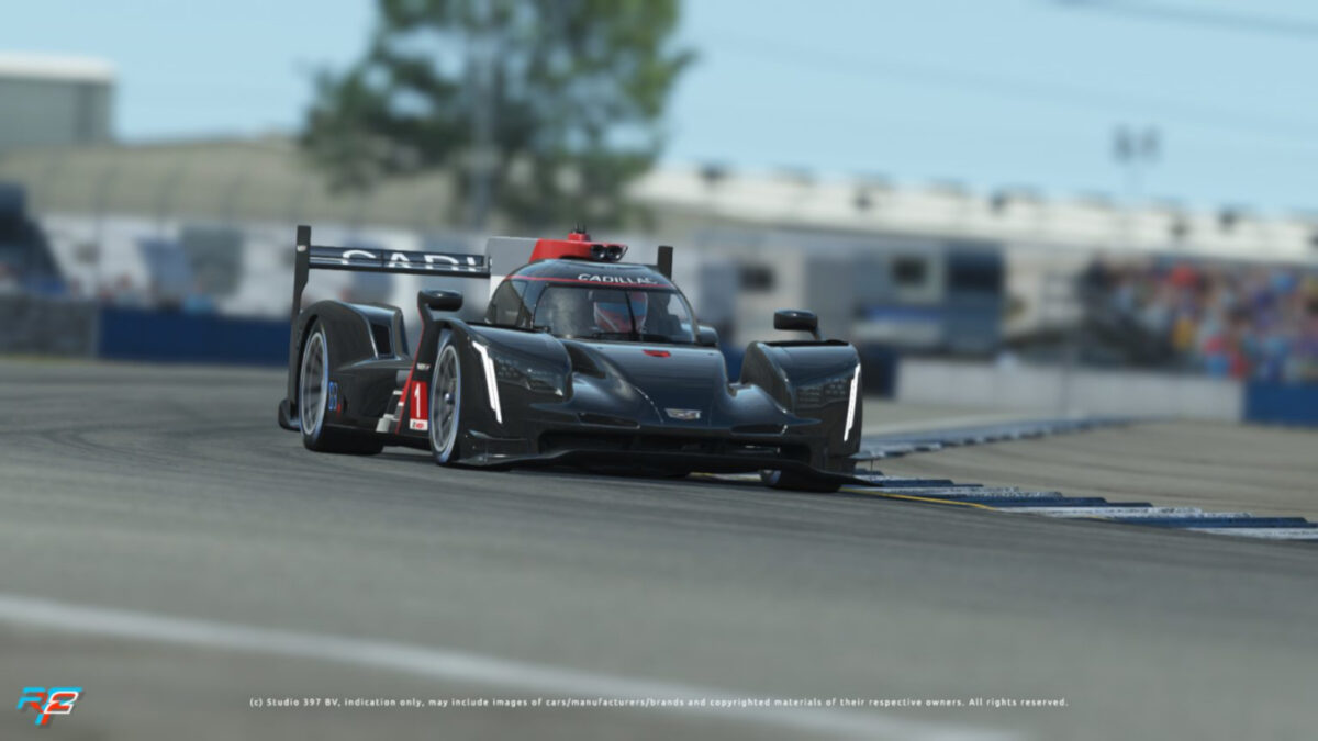 rFactor 2 November Roadmap Update Includes the Cadillac DPi-V.R