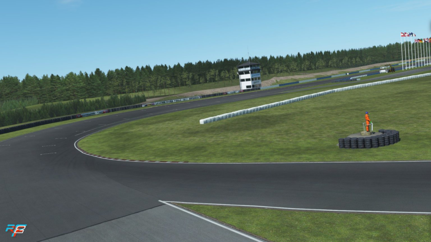 rFactor 2 release 5 track updates in December 2020, including Botniaring in Finland