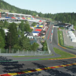 rFactor 2 release 5 track updates in December 2020, including Spa-Francorchamps