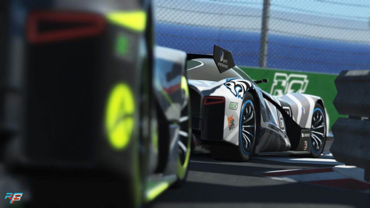 rFactor 2 release the electric RCCO eX ZERO 2021 with 20 minutes of racing from a single virtual charge