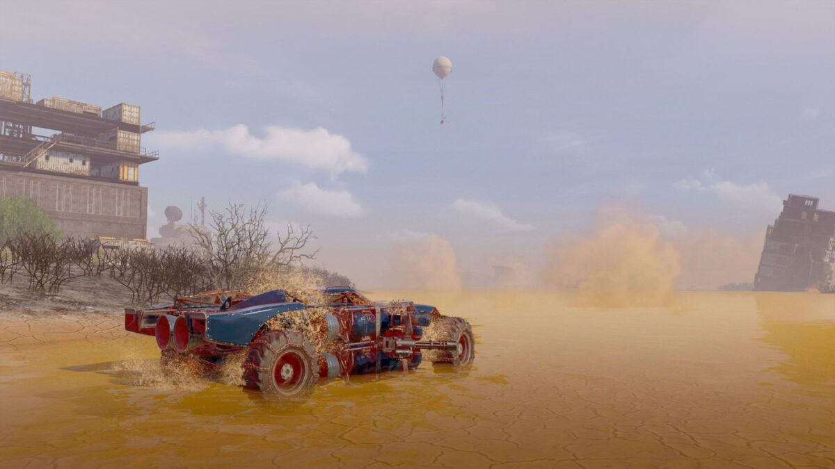 The new Crossout Clean Island Event and Map have launched