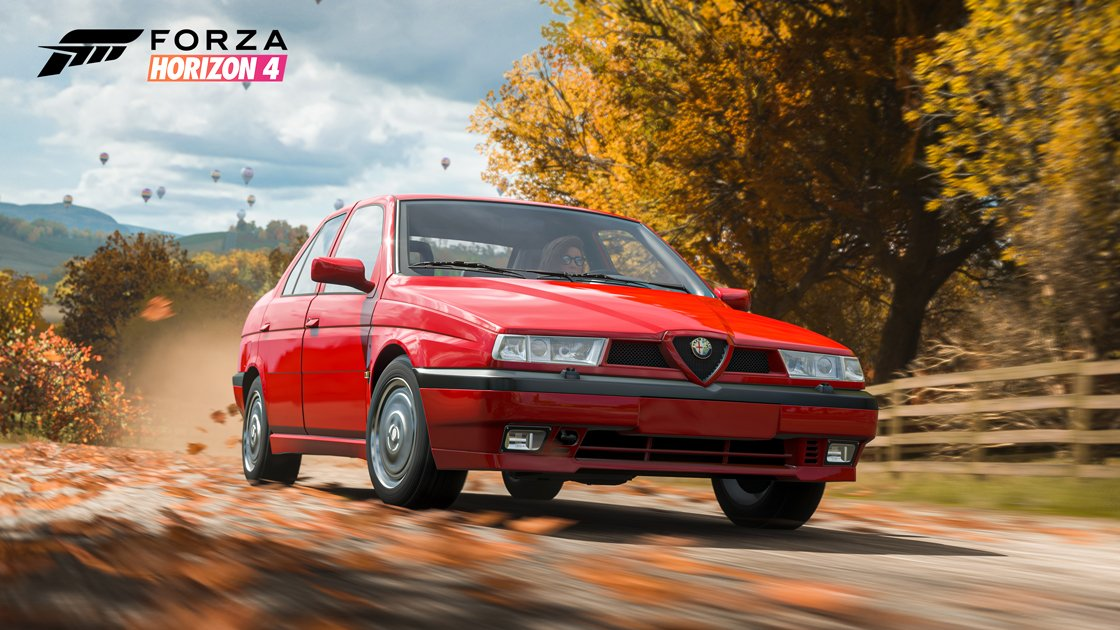 The Forza Horizon 4 Series 30 Alfa Romeo 155 Q4