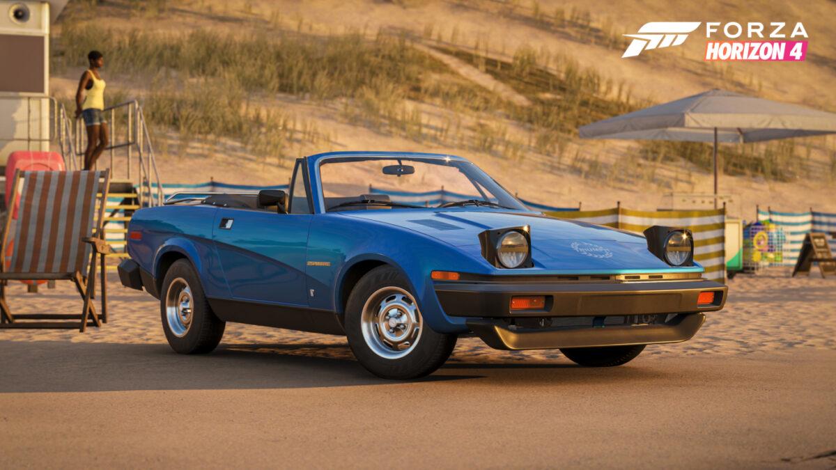 The Forza Horizon 4 Super7 1979 Triumph TR7 Roadster