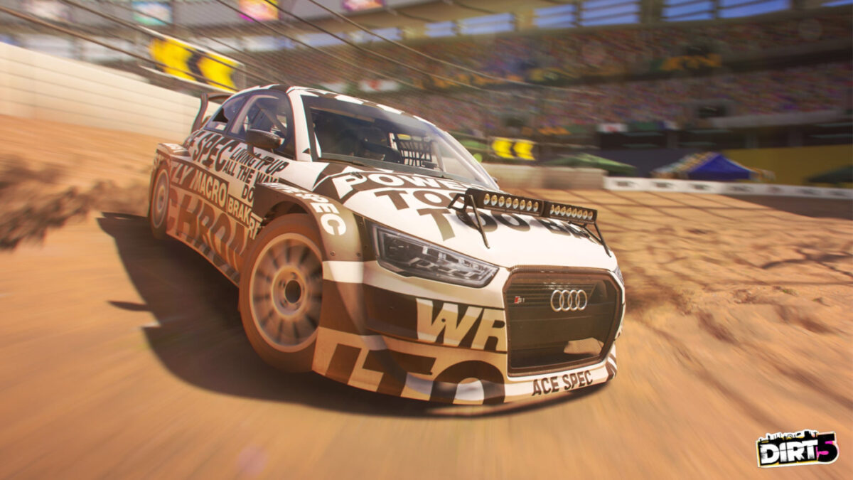 The new DIRT 5 Update will add more Wheel support for Thrustmaster, Logitech and Fanatec set-ups