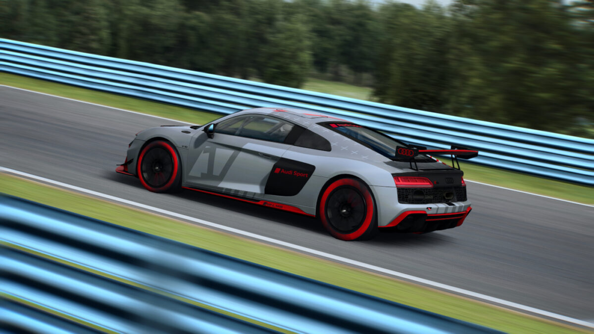 RaceRoom Will Add The Audi R8 LMS GT4 in December