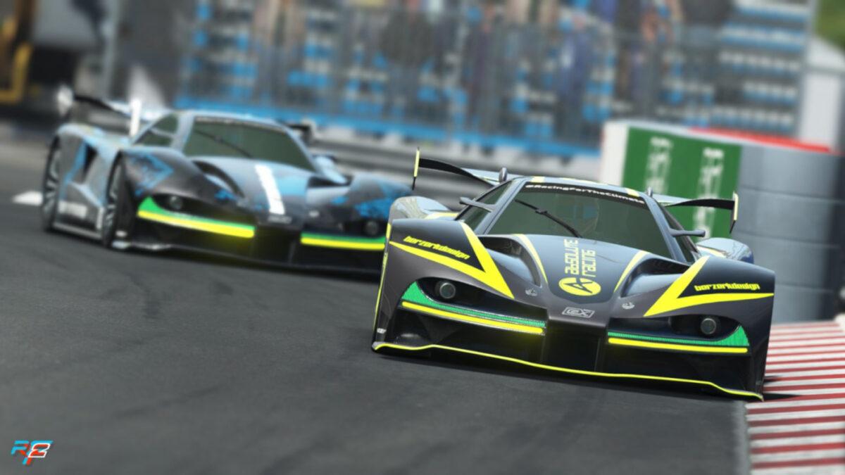 If Batman raced cars?