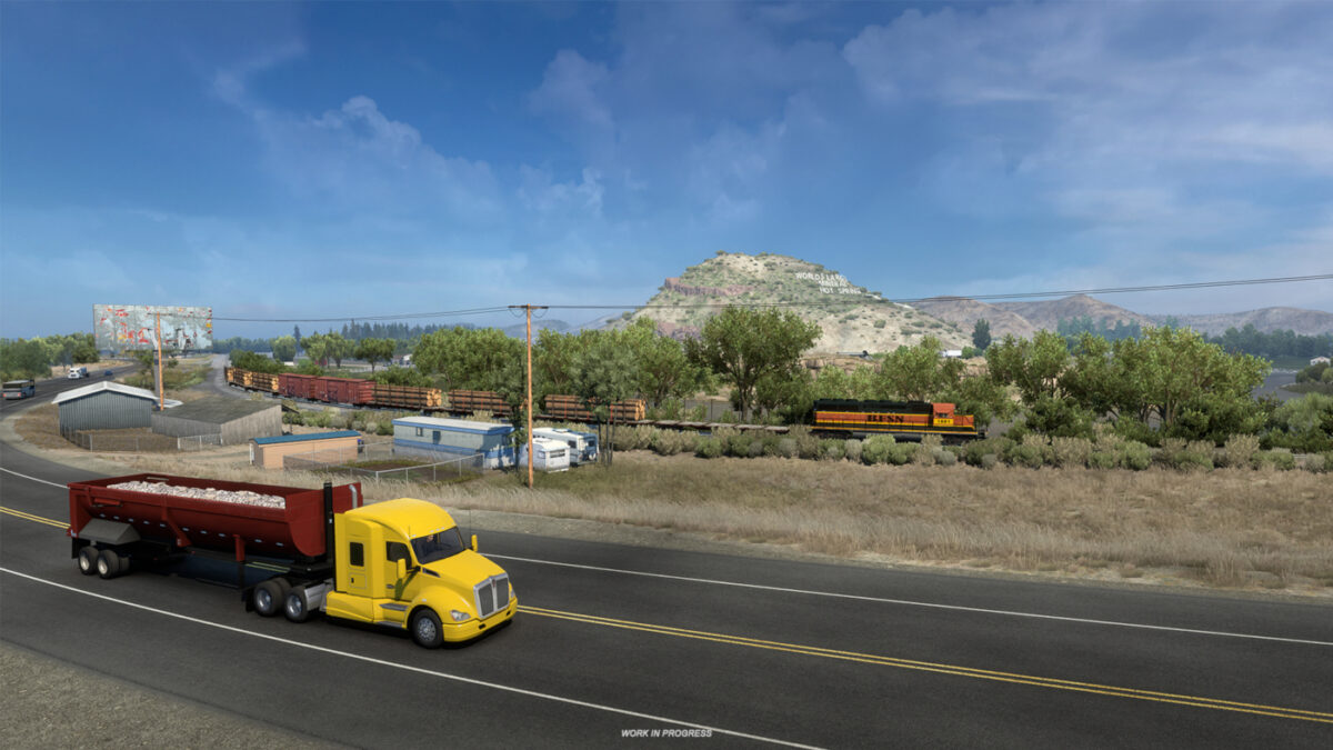 Wyoming will be the next DLC release for American Truck Simulator